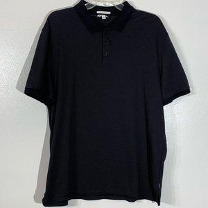 Calvin Klein Black & White Polo Shirt - XL